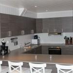Stor-hytte køkken