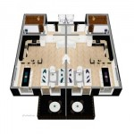 Stor-hytte stueplan              (2 lejl)